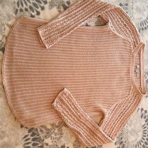 Loft Size M blush pink sweater